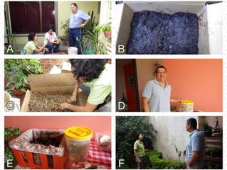 Experiencias de Compostadores de San Vicente, Santo Domingo, Heredia, Costa Rica.