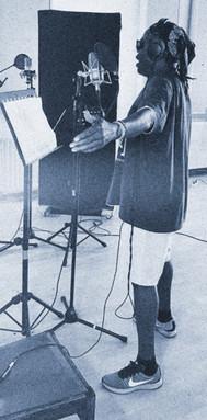 Edward Buadee in Studio Room 13