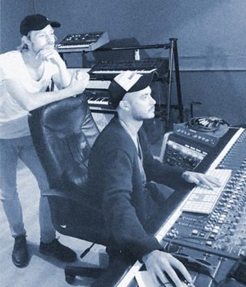 David Broeders en Jonas Everaert in Studio Room 13
