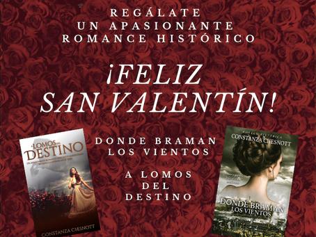 ¡Feliz San Valentín! Sumérgete en una gran historia de amor