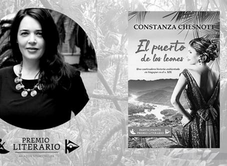 Premio literario Amazon Storyteller 2020. El puerto de los leones en la prensa: Revista Ícaro