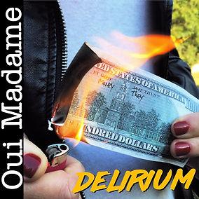 Capa Oui Madame Delirium, arte Oui Madam