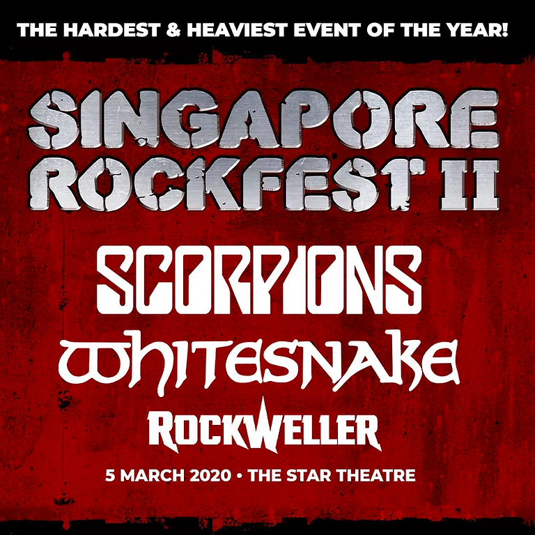 ROCKFEST II (2020) with Whitesnake, Scorpions and RockWeller