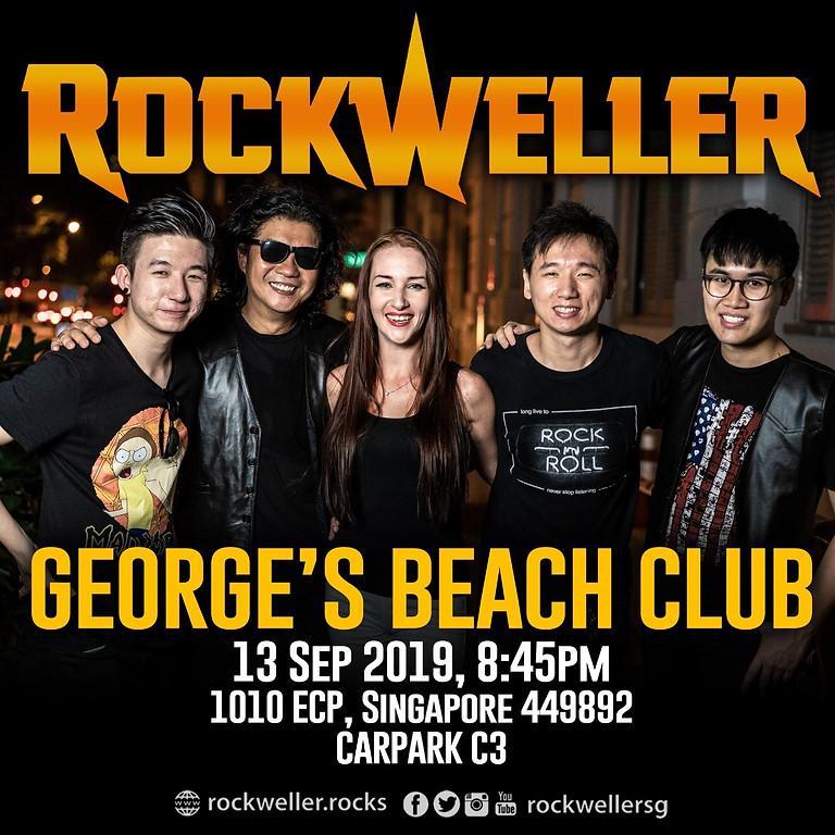 RockWeller @ George's Beach Club 13 Sep 2019