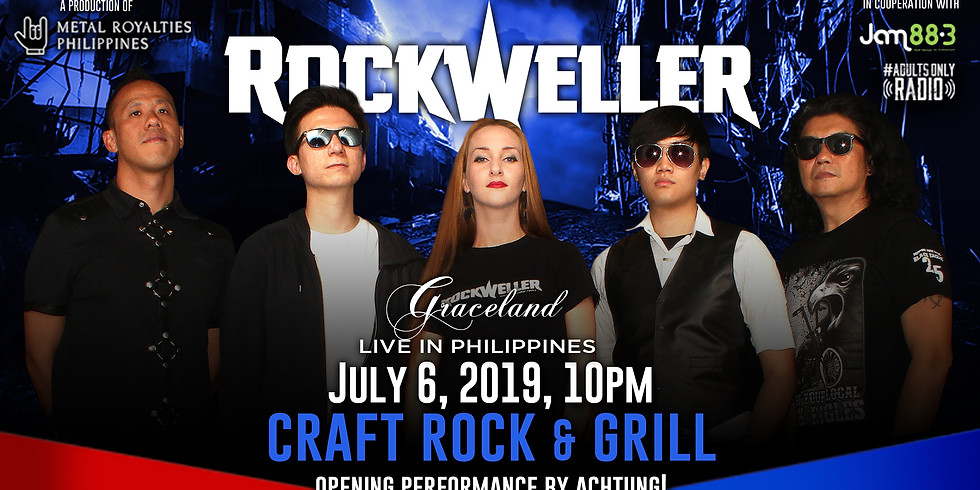 RockWeller Live in Philippines - Craft Rock N' Grill
