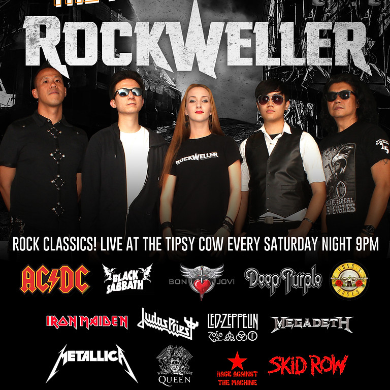 RockWeller @ The Tipsy Cow