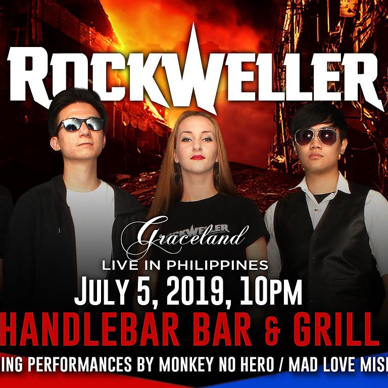 RockWeller Live in Philippines - Handlebar Bar & Grill