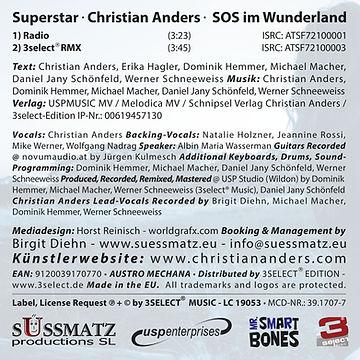 Superstar • Christian Anders • SOS im Wunderland • BackCover.jpg