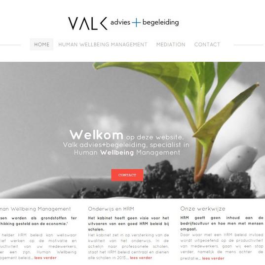 website zakelijke dienstverlener