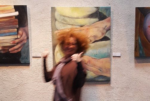 Solo exhibition Ellen Valk