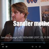 still - clip impressie training Sandler