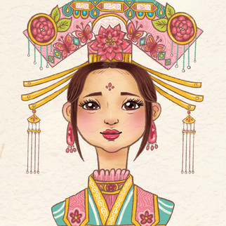 Lotus Headdress