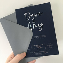 The Clifton wedding Invitation