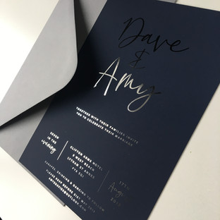 The Clifton wedding Invitation