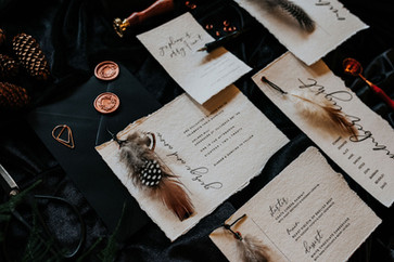 The Feather Wedding Stationery