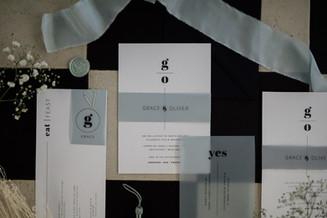 Larkspur Wedding Stationery