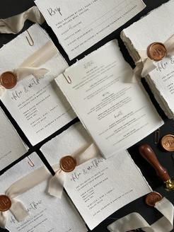 Bespoke Wax Seal | Wedding Invitation
