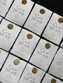 Wax Seal Save The Dates