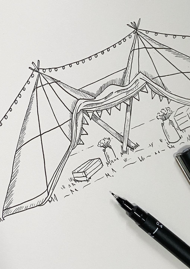 Teepee Illustration
