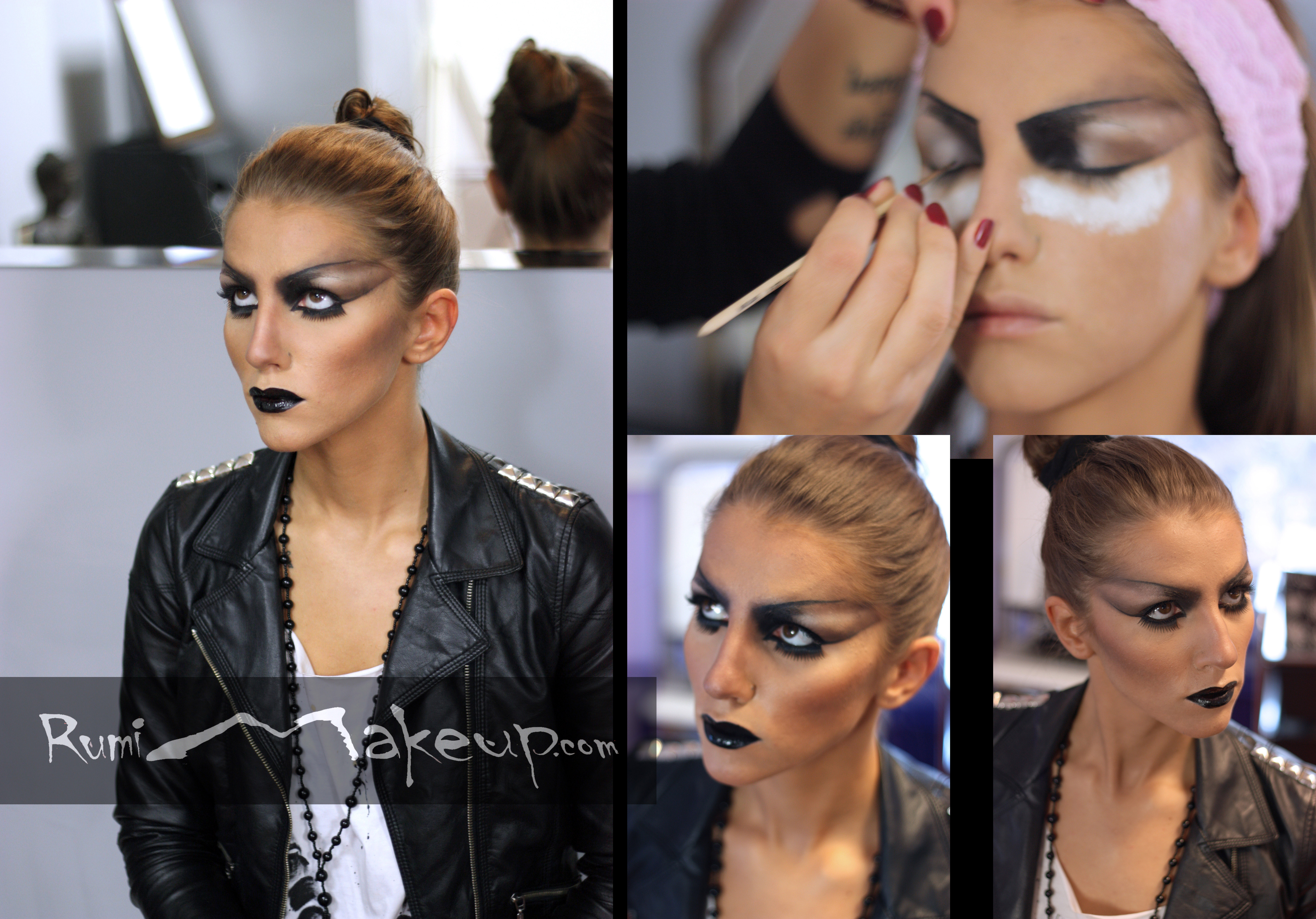 Makeup inspired by DIOR