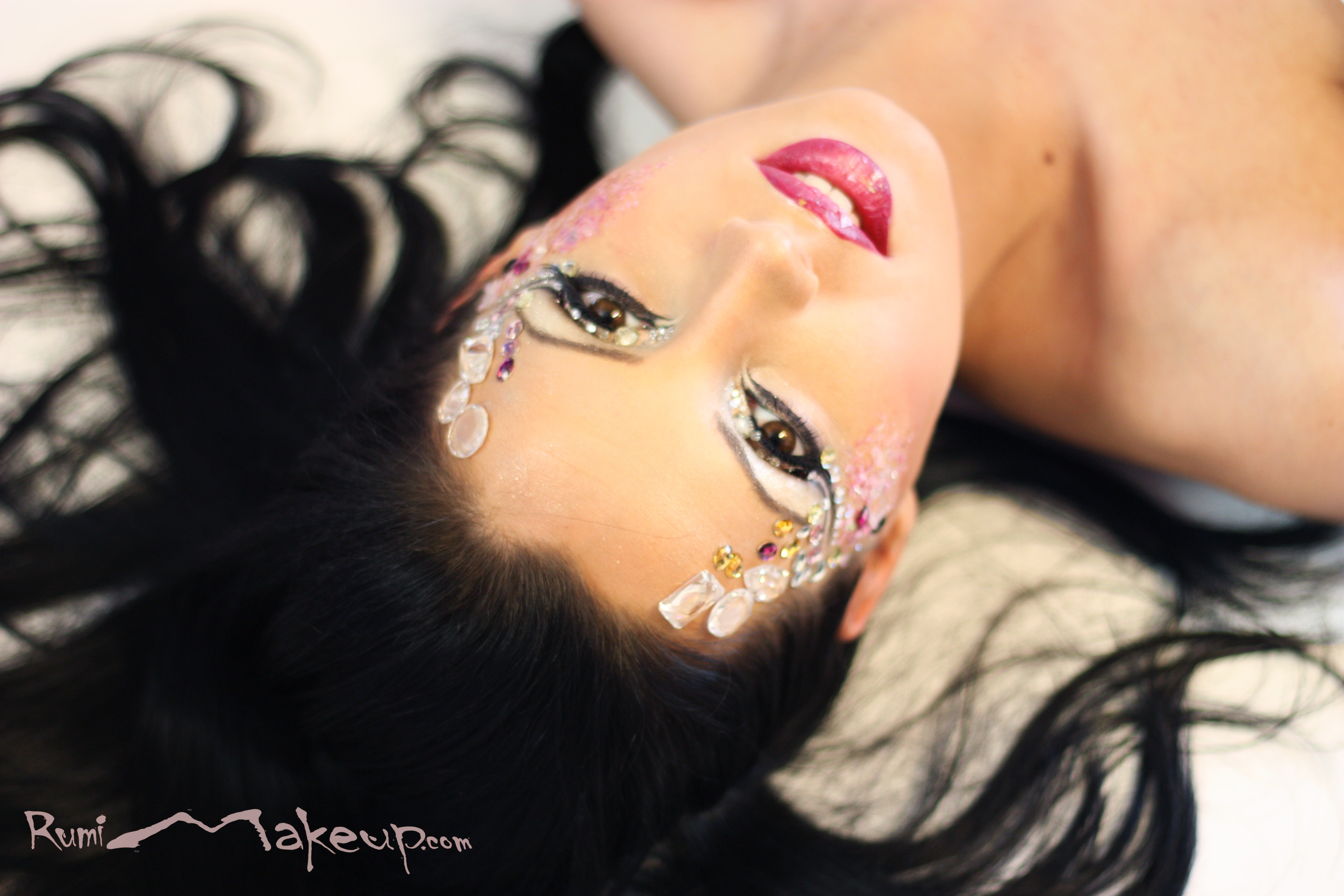 ART Makeup with decorations