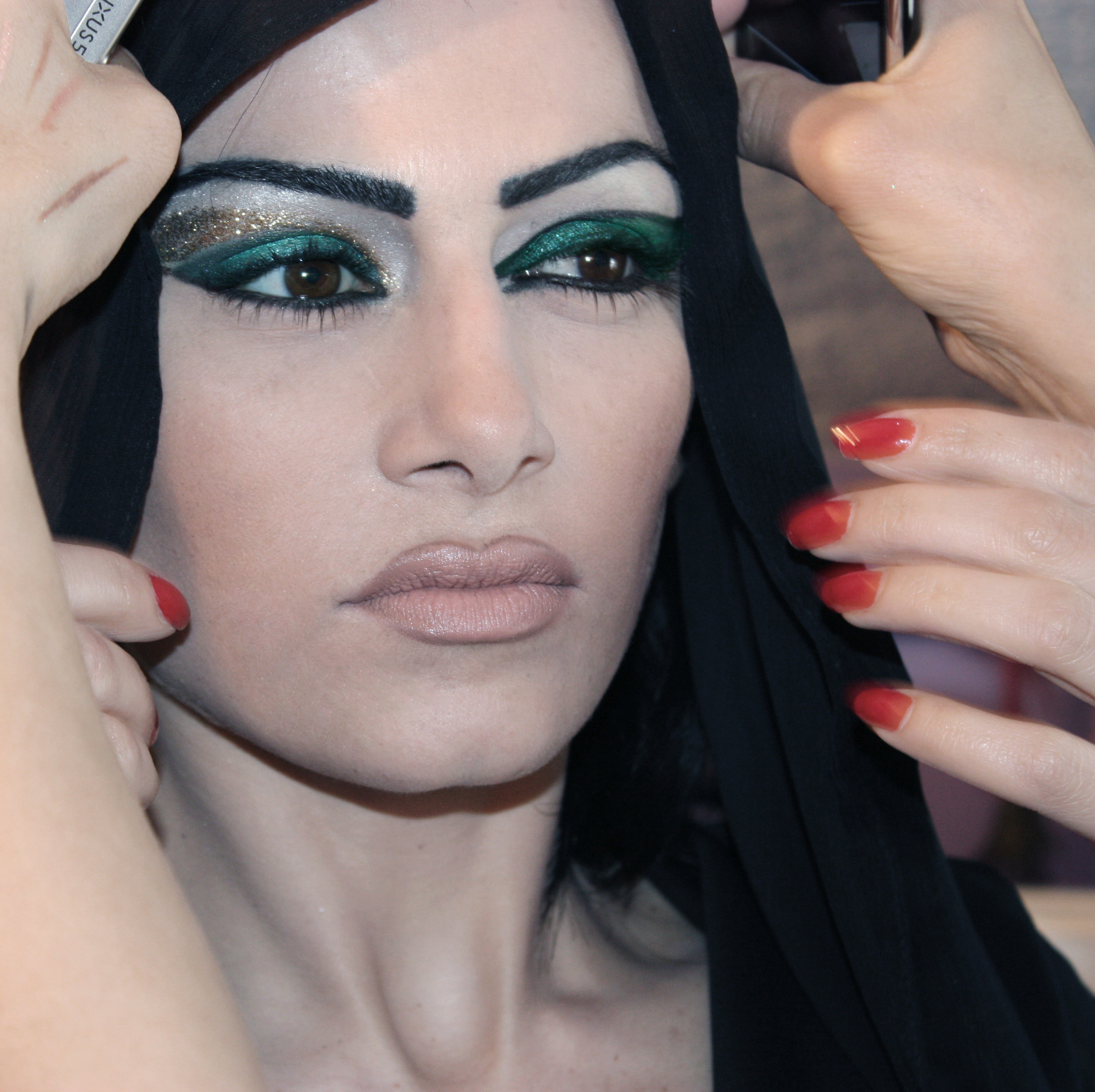"Фотосесия ""Arab makeup"" Orient style"