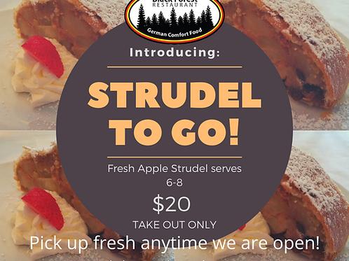 Fresh Apple Strudel
