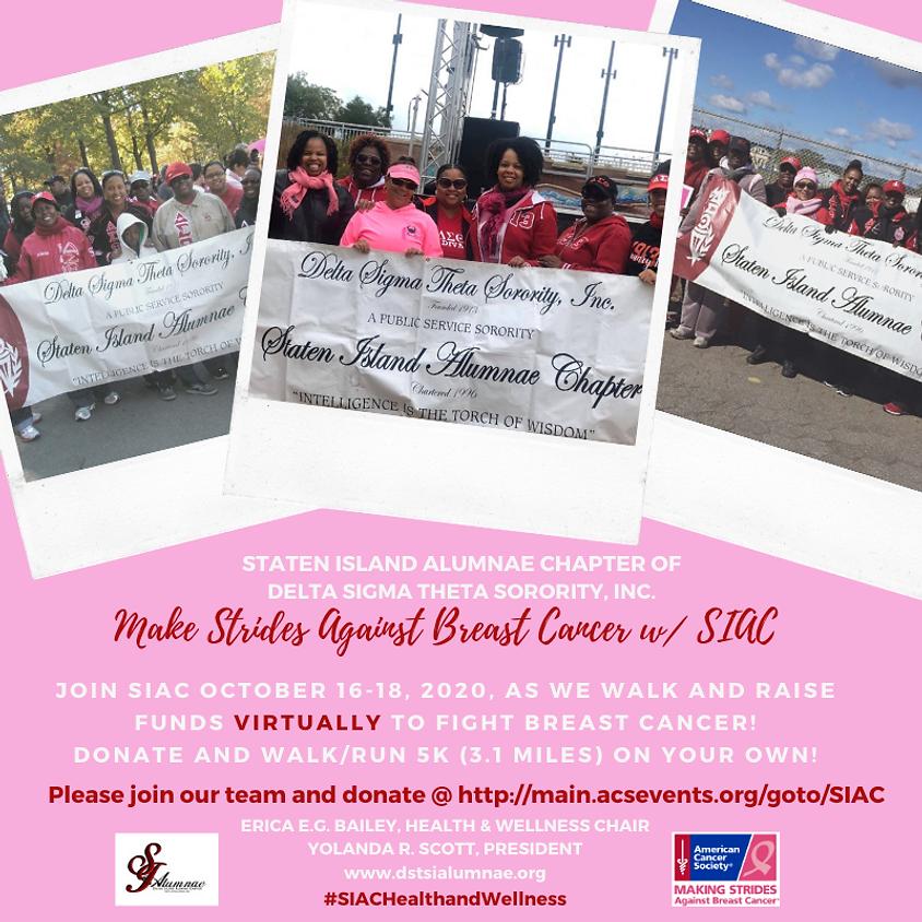 Making Strides Against Breast Cancer 2020