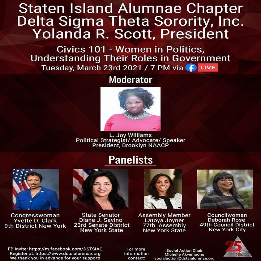 Civics 101: Women In Politics - Understanding Their Roles in Government