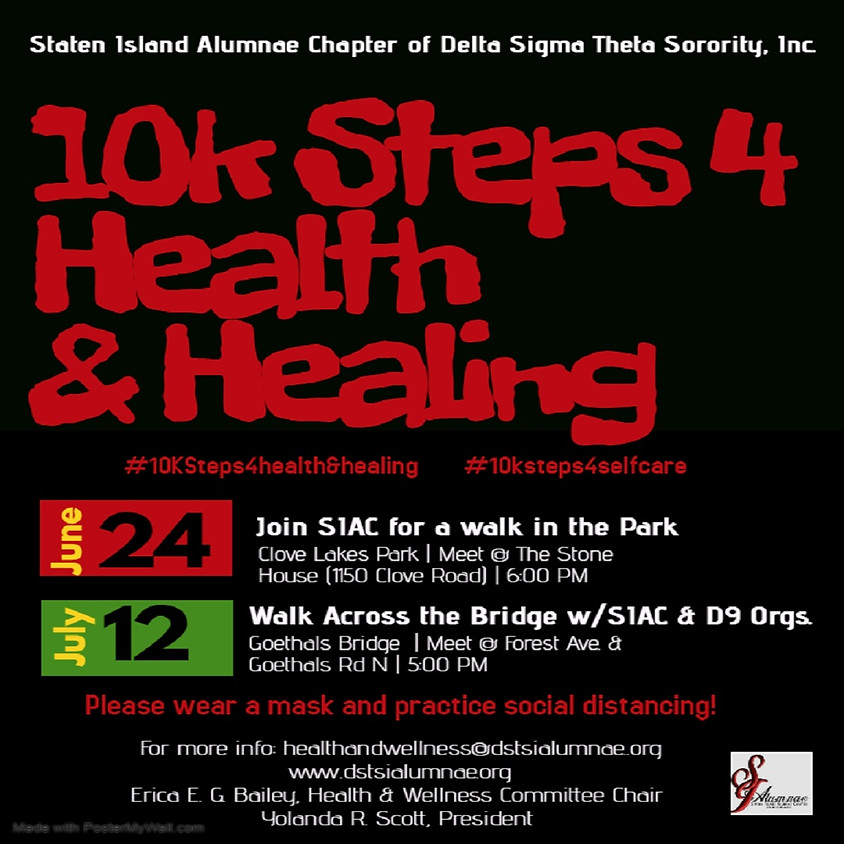10K Steps 4 Health & Healing