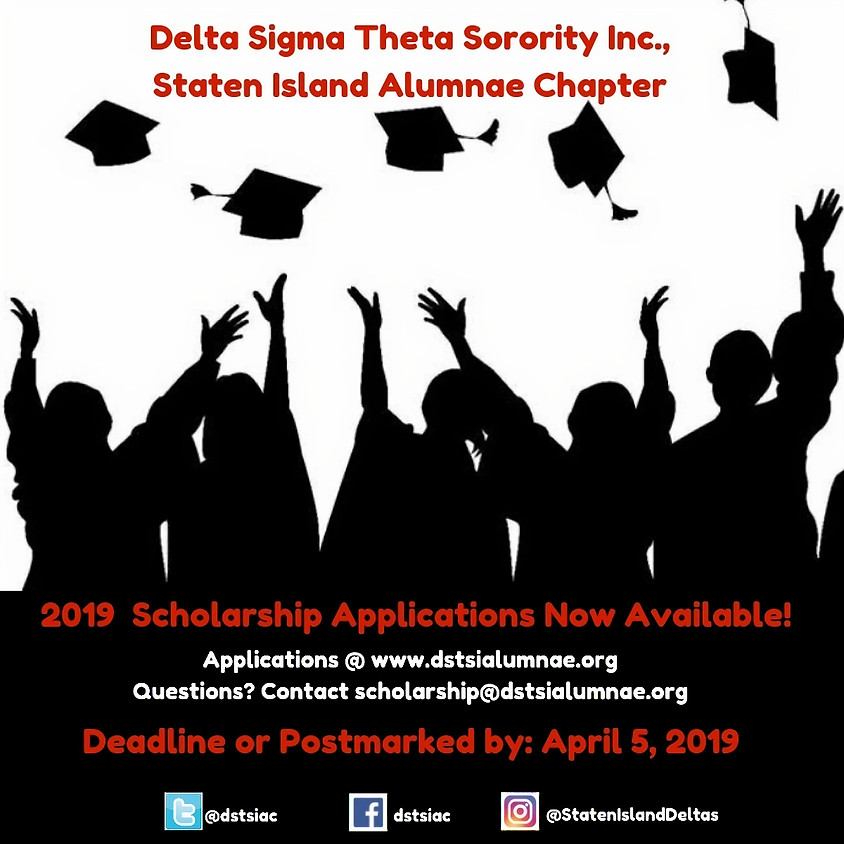 2019 Scholarship Applications Now Available!