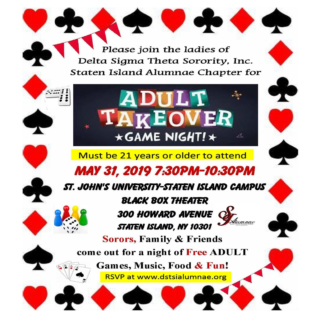 SIAC Adult Takeover Game Night