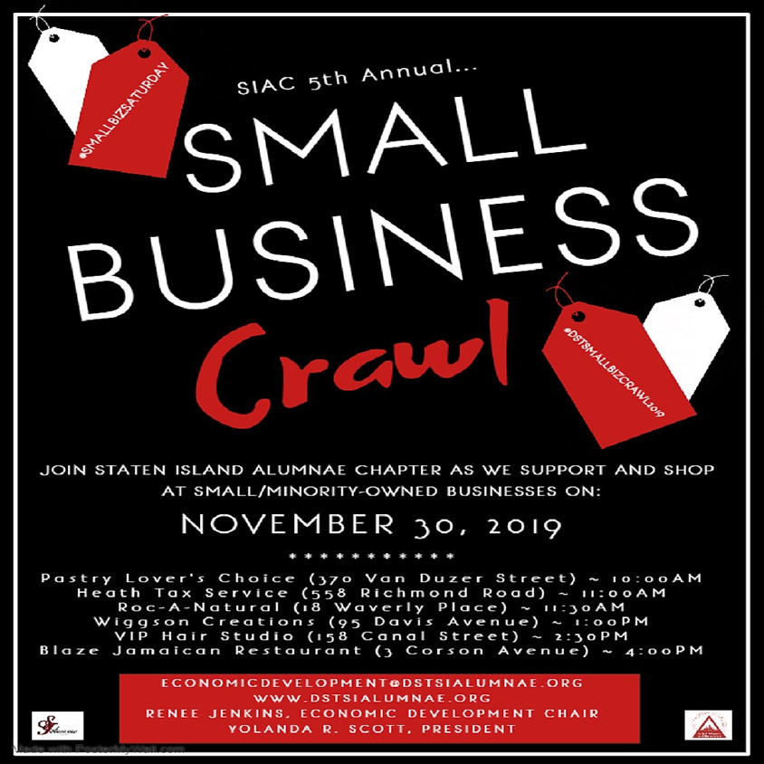 SIAC 5th Annual Small Business Crawl