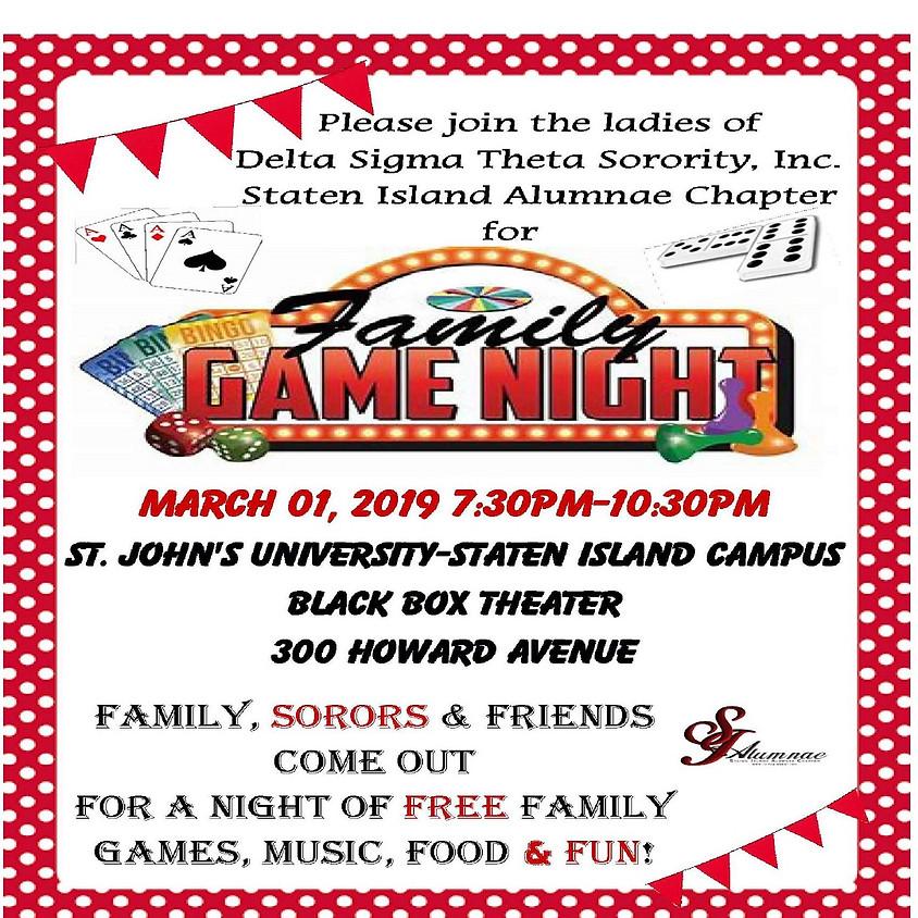 SIAC Family Game Night