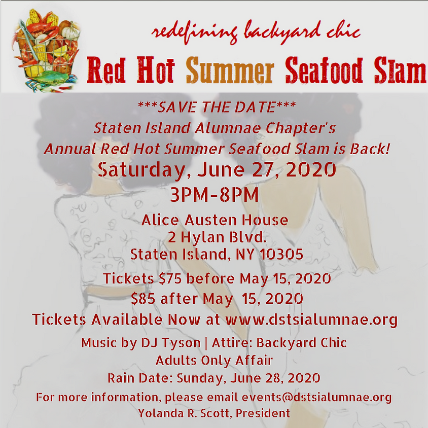 3rd Annual Red Hot Summer Seafood Slam