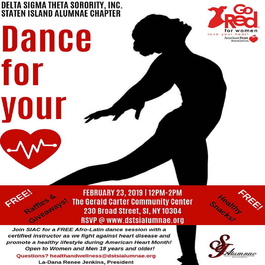 Dance For Your Heart: Afro-Latin Dance Workout
