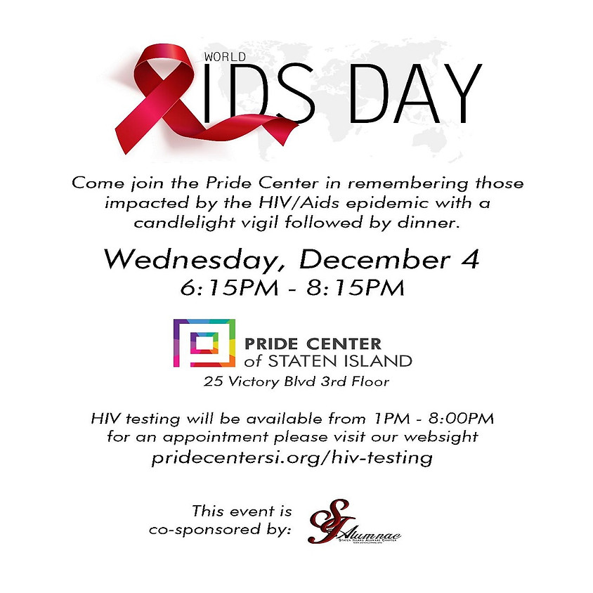 World AIDS Day (Part I) Candlelight Vigil
