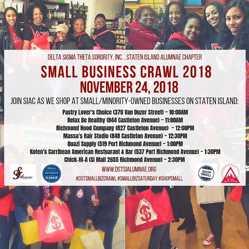 SIAC 4th Annual Small Business Crawl