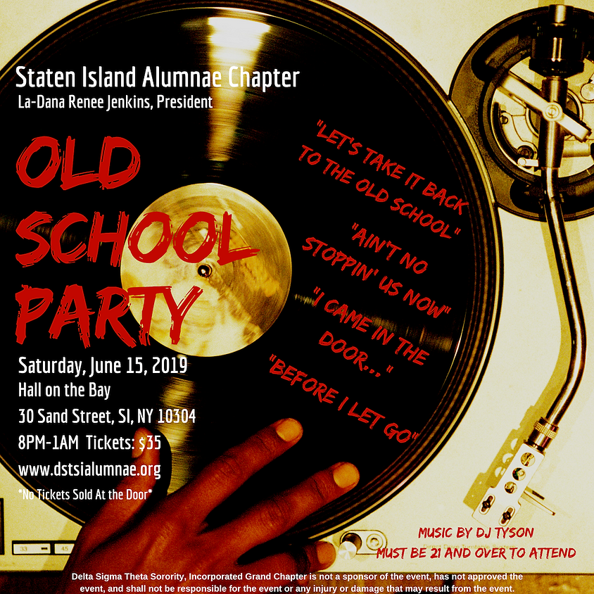 SOLD OUT - Old School Party