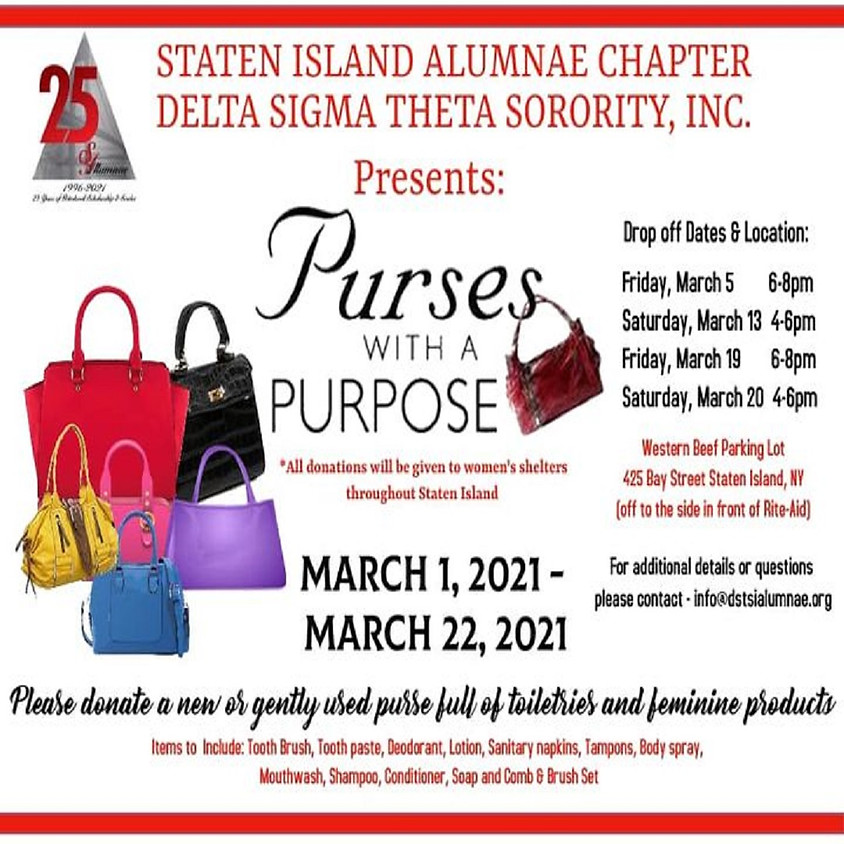 Purses with a Purpose!