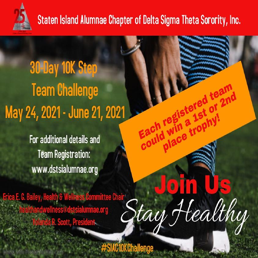 Virtual 30-Day 10K Step Challenge