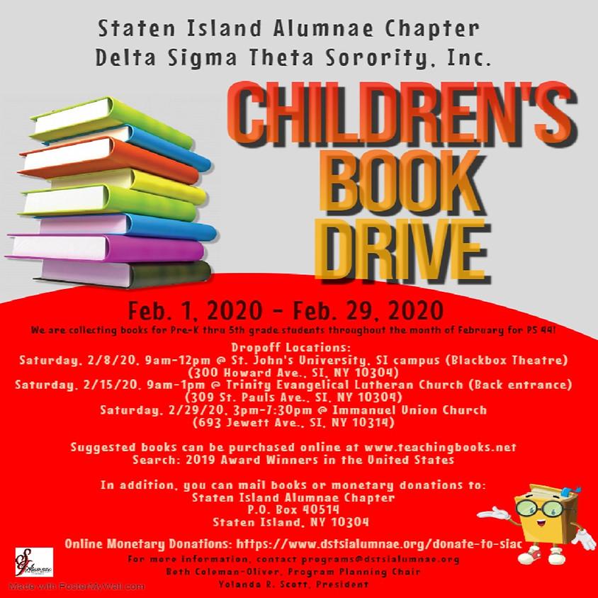 Children's Book Drive