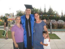 Elhanan Meirovithz graduation