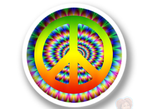 """Psycho-Peace"" Sticker"
