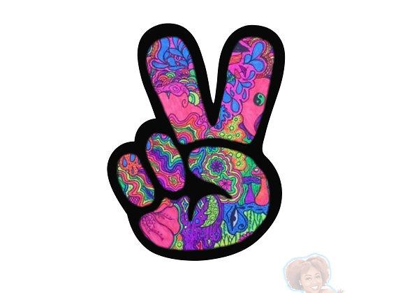 """Tri-Peace"" Sticker"