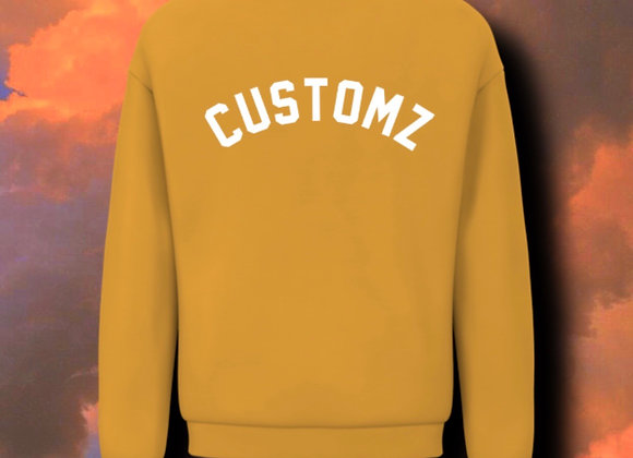"""Customz"" crewneck"