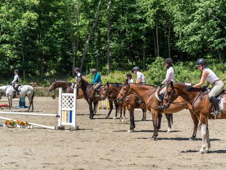 Full Circle Farm June 20th Horse Show