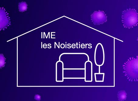 Situation de confinement                                 IME les Noisetiers