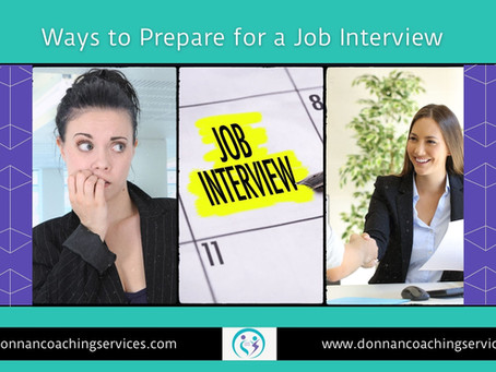 Ways to Prepare for a Job interview