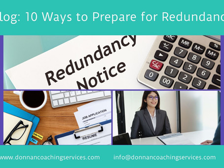 10 Ways to Prepare for Redundancy